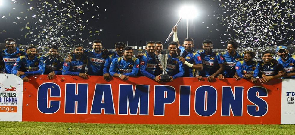 SL vs BAN: Mathews leads Lankans to series sweep against Bangladesh (Image credit: Twitter/Sri Lanka Cricket)