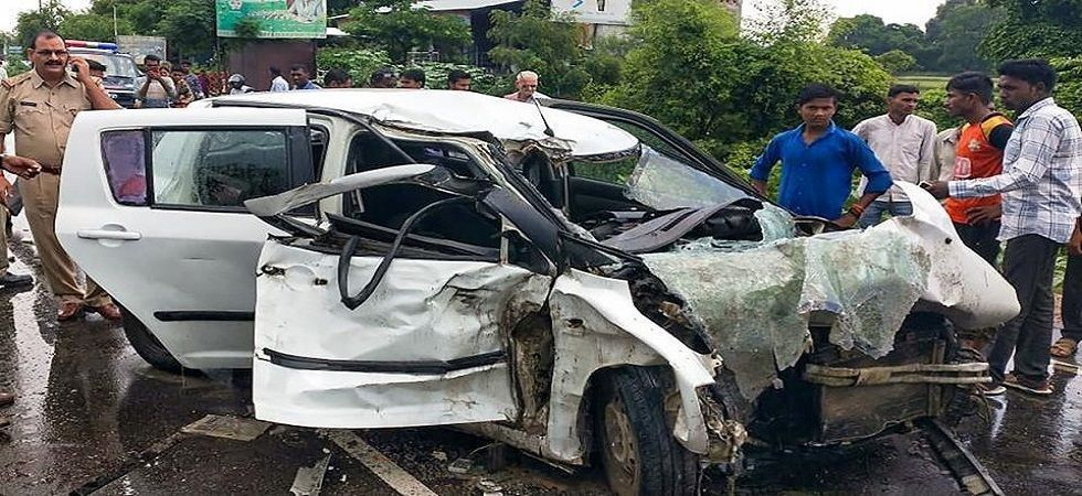 In the accident involving victim's car and a truck, the girl and her lawyer were severely injured. Two aunts of the victim had died in the accident. (PTI Photo)