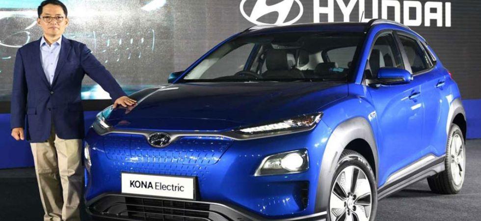 Hyundai Kona electric SUV (Photo Credit: Twitter)