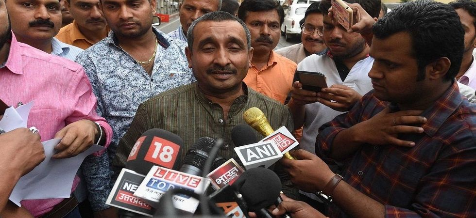 Expelled BJP MLA Kuldeep Singh Sengar.