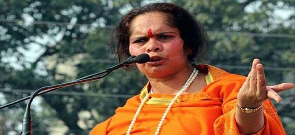 Controversial VHP leader Sadhvi Prachi
