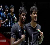 Satwiksairaj Rankireddy and Chirag Shetty create history in BWF Super 500 badminton