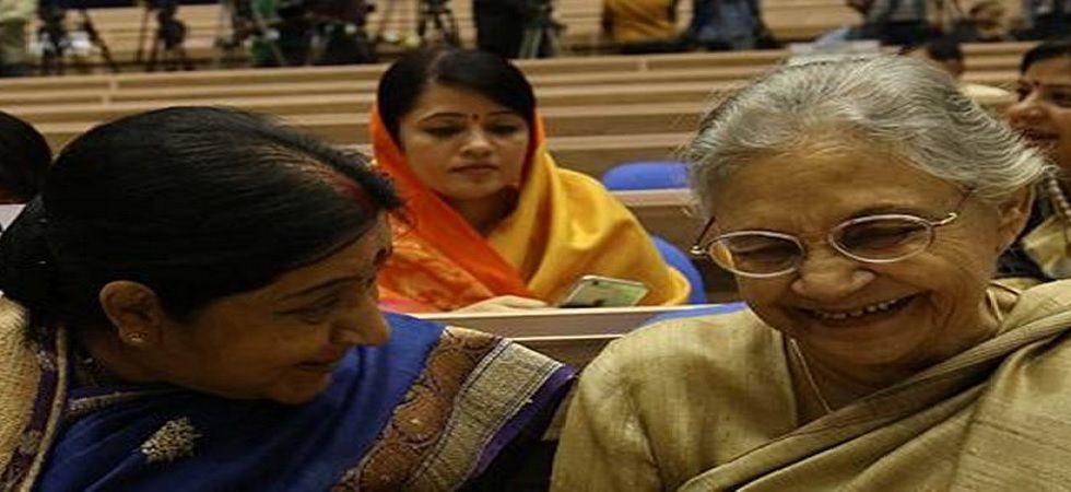 Sushma Swaraj and Sheila Dikshit were close friends.