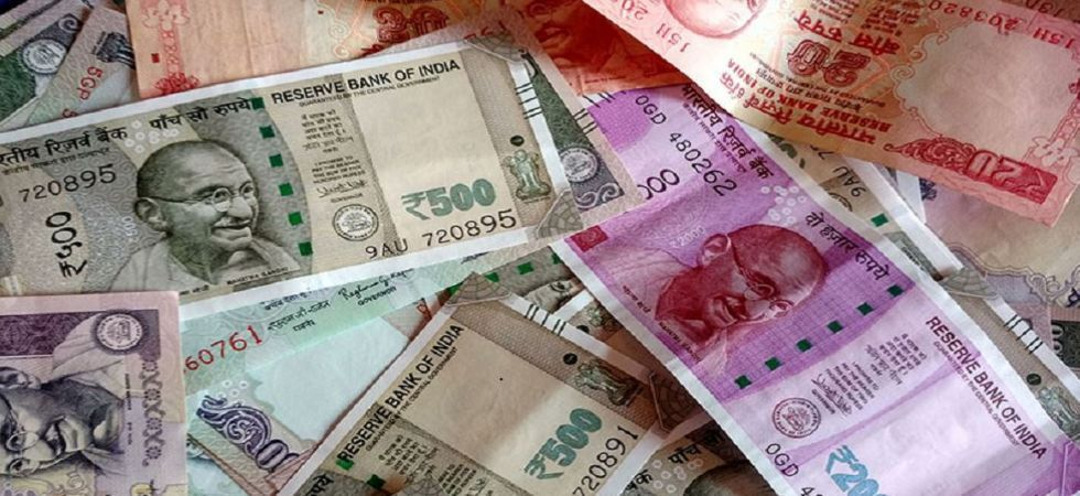 At the Interbank Foreign Exchange, the rupee opened weak at 70.92 then fell to 70.93 against the US dollar