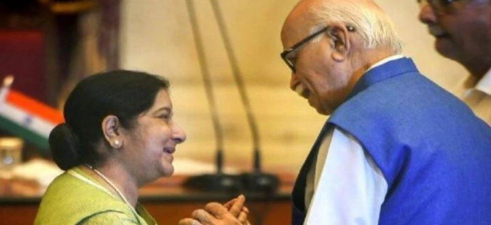 Sushma Swaraj touched everyone with her warmth and compassionate nature, LK Advani wrote in an emotional message. (File Photo)