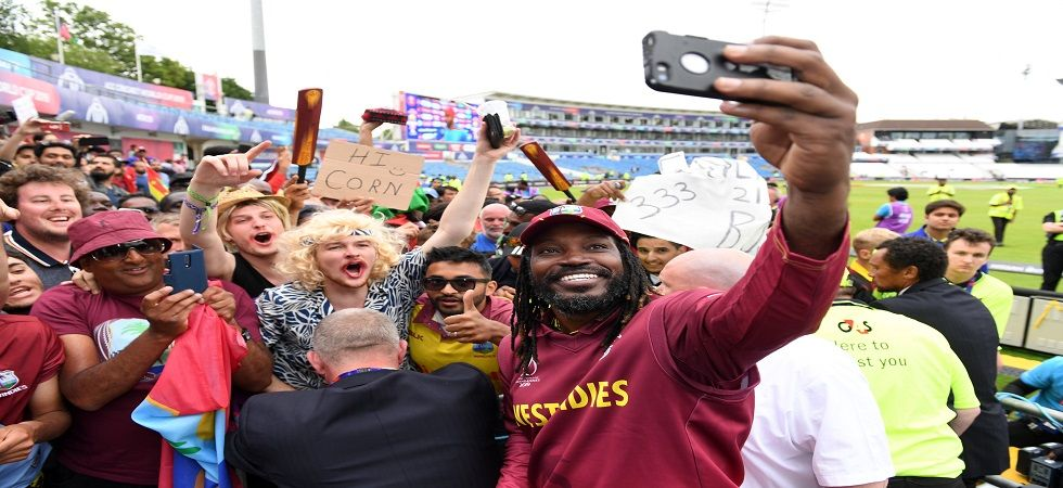 Chris Gayle has broken Brian Lara's record of most ODIs for West Indies during the Guyana game against India. (Image credit: Twitter)