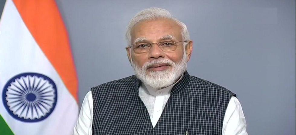 PM Modi termed his government's decision to revoke Article 370 in Kashmir 'historic'. (ANI Photo)