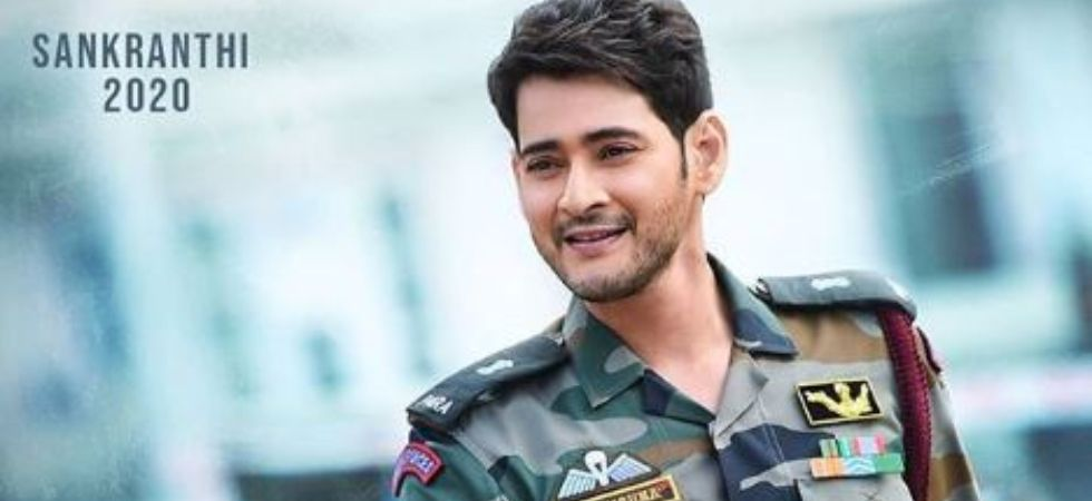 Mahesh Babu first look in Sarileru Neekevvaru. (Image: Instagram)