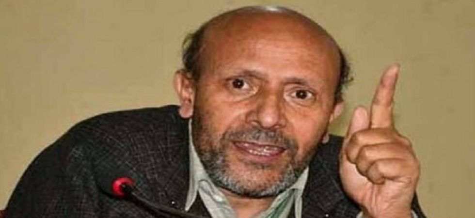 Former Independent MLA in Jammu and Kashmir Sheikh Abdul Rashid, also known as Rashid Engineer. (File Photo)