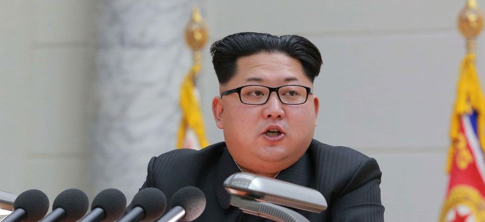 """Kim had ordered that the test be carried out """"immediately"""" after getting a report on the development of the new weapon, KCNA said. (File Photo)"""