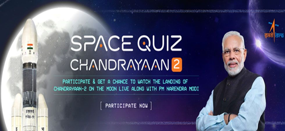 The Chandrayaan 2 is scheduled to make a soft landing on the Moon on the night of either September 6 or 7. (Image Credit: mygov.in)