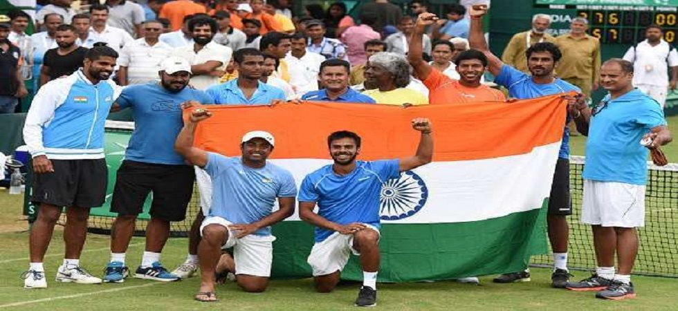 India's participation in the Asia-Oceania Zone Group 1 Davis Cup tie, scheduled on September 14 and 15 in Islamabad, is uncertain owing to high political tensions with Pakistan. (Image credit: Twitter)