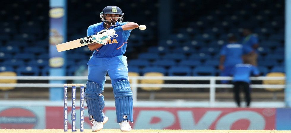 Shreyas Iyer slammed 71 off 68 balls as India registered a 59-run win against the West Indies in Trinidad. (Image credit: BCCI Twitter)