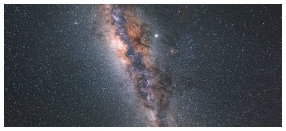 Milky Way is warped and twisted, not flat says study (Photo: Twitter)