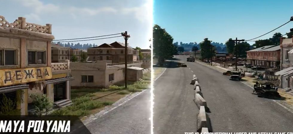 PUBG Mobile 0.14.0 update: Check out the new Erangel 2.0 map (Twitter)