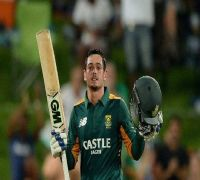 Du Plessis misses out, De Kock to lead South Africa in T20s against India