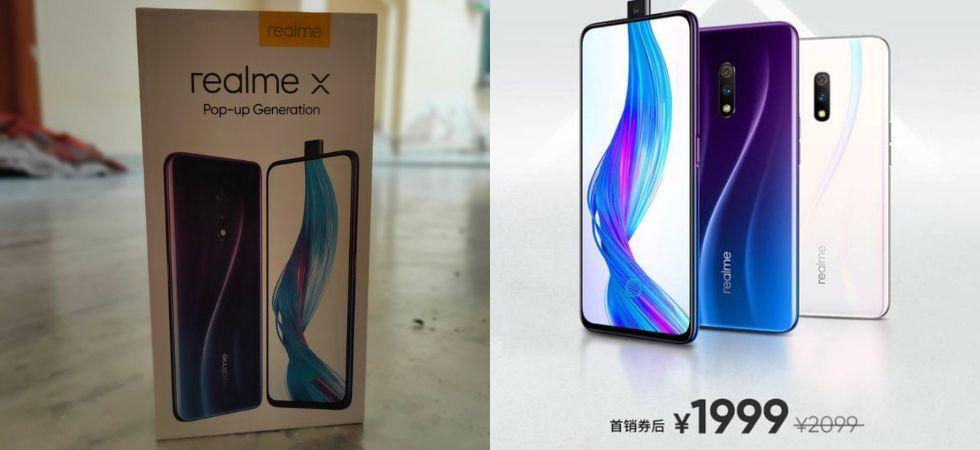 Realme X (Photo Credit: Twitter)