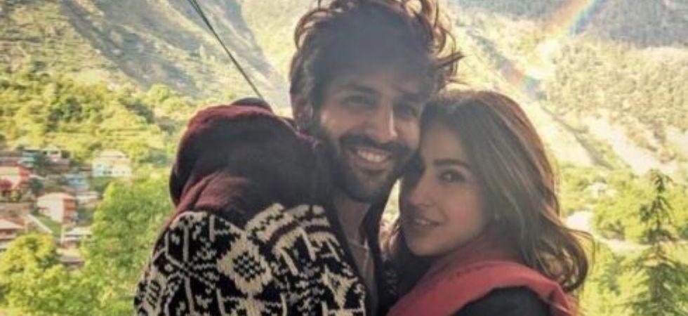 Sara Ali Khan and Kartik Aaryan. (Image: Instagram)