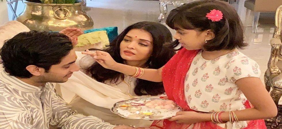 In Pics: Aishwarya shares how Raksha Bandhan is celebrated in Bachchan family