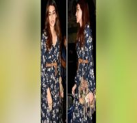 Kriti Sanon's casual evening dress can surely burn a hole in your pockets, guess the price?