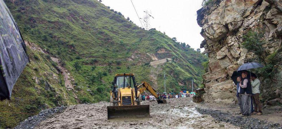 Heavy monsoon rains in Kullu district of Himachal Pradesh (Photo Source: PTI)