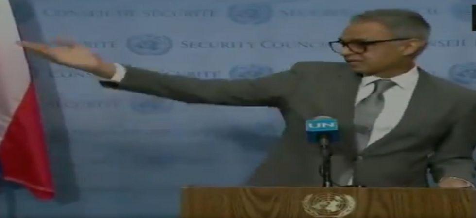 Syed Akbaruddin, India's Ambassador and Permanent Representative to the United Nations. (ANI/Twitter)