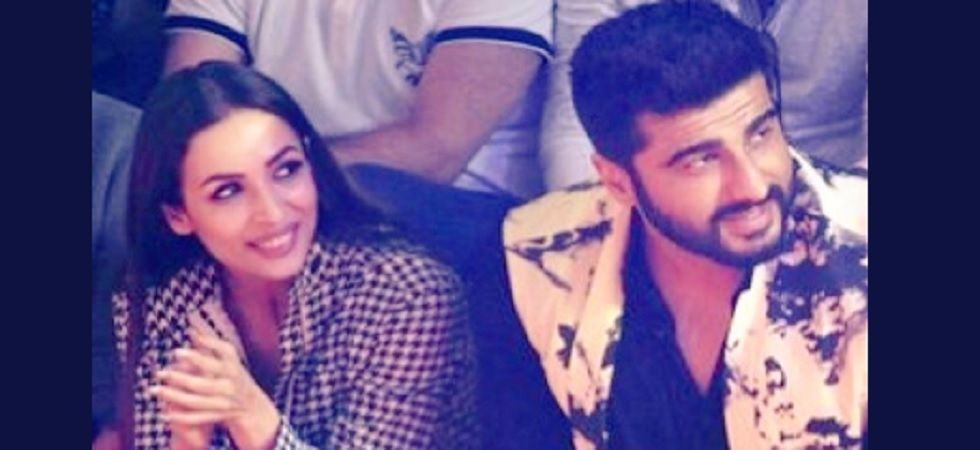 Pics: Arjun Kapoor smiles when Malaika Arora is the photographer