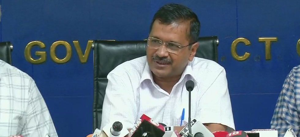 Chief Minister Arvind Kejriwal will flag off the first lot of the 1,000 standard floor buses to be inducted under Cluster scheme of the Delhi Integrated Multi Modal System. (File Photo)