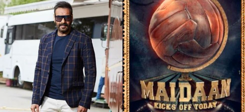 Ajay Devgn to play football coach Syed Abdul Rahim in Maidaan. (Image: Twitter)