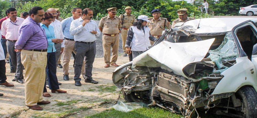Raebareli accident scene being recreated by CBI and forensic team. (Photo Source: PTI)