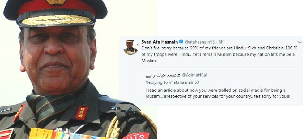 Army veteran Lieutenant General Syed Ata Hasnain (Image: Twitter)