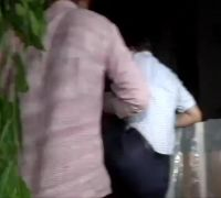 Dramatic VIDEO | CBI officials scale wall to enter P Chidambaram's residence
