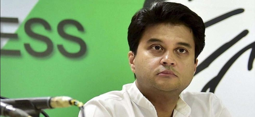 Jyotiraditya Scindia has been appointed as the chairman of a six-member screening committee for Maharashtra assembly elections. (File Photo)