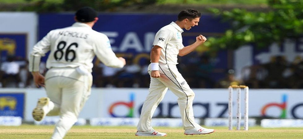 Trent Boult became the third New Zealand player after Sir Richard Hadlee and Daniel Vettori to take 250 or more wickets in Tests. (Image credit: Twitter)