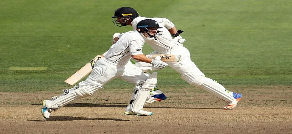 Colin de Grandhomme's aggressive knock has helped New Zealand build a decent lead against Sri Lanka with just one day to go in the Colombo Test. (Image credit: ICC Twitter)