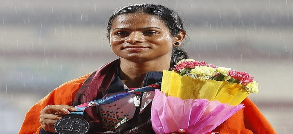 Dutee Chand will be aiming to qualify for the 2020 Tokyo Olympics after a consistent showing in the last couple of seasons. (Image credit: Twitter)