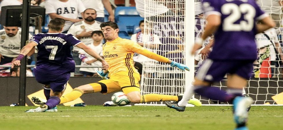 ergi Guardiola levelled in the 88th and Valladolid snatched a 1-1 draw as Real Madrid's poor start to the La Liga season. (Image credit: Twitter)