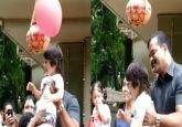 Kareena Kapoor's son Taimur celebrates Janmashtami at school with cousin Inaaya, watch VIDEO
