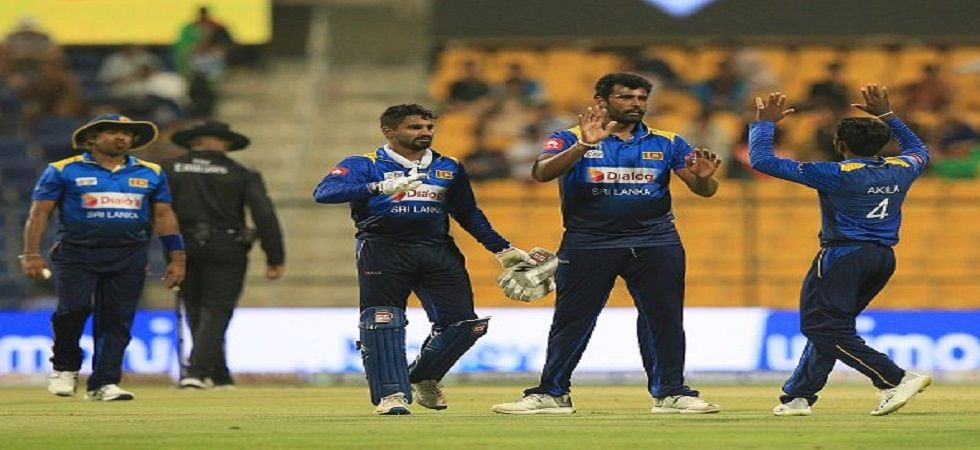 Thisara Perera and Angelo Mathews have been left out of the Sri Lanka squad for the upcoming three-match Twenty20 International series against New Zealand. (Image credit: Twitter)