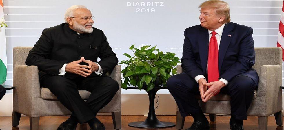 PM Narendra Modi with US President Donald Trump at G7 Summit (Photo Source: Twitter - @narendramodi)