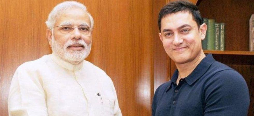 PM Modi thanks Aamir Khan
