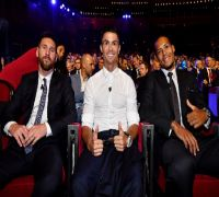 WATCH RARE VIDEO- Cristiano Ronaldo And Lionel Messi Have A Joyous Conversation