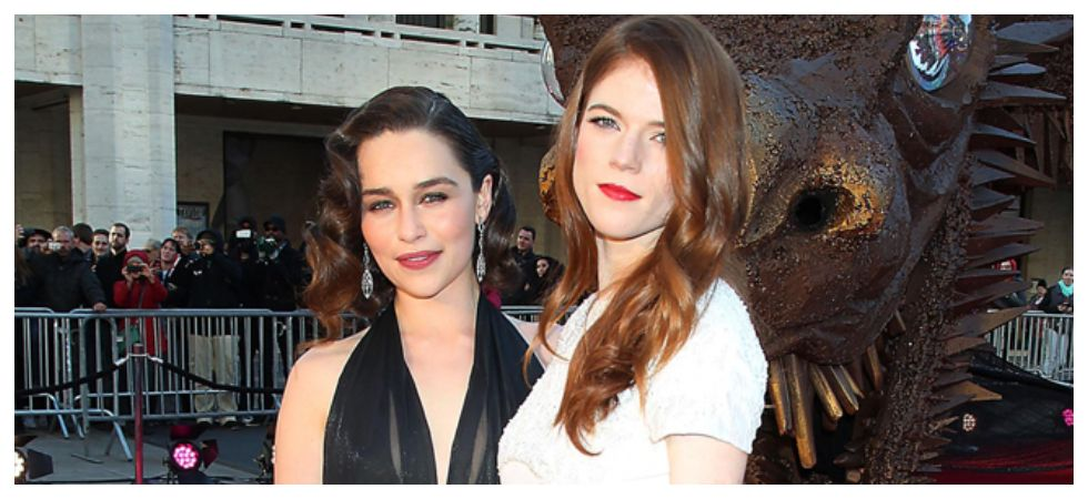 Emilia Clarke Is In India With Rose Leslie (Photo: Twitter)