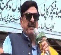 Watch: Pakistan Minister Sheikh Rashid Speaks Against PM Modi, Gets Electric Shock