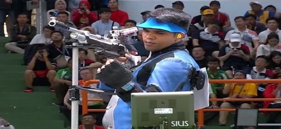 Deepak Kumar was left to rue a poor start after finishing seventh to miss out on an Olympic quota in the men's 10m air rifle event of the World Cup in Rio de Janiero. (Image credit: Twitter)