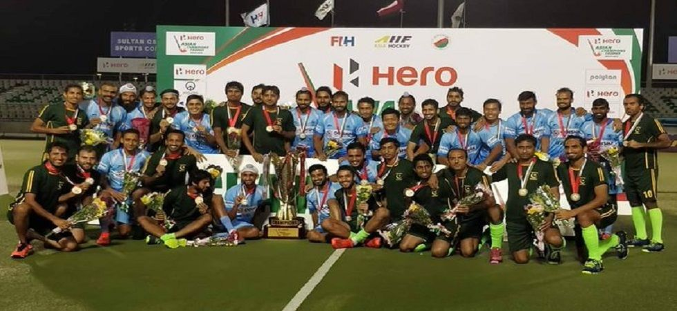 India and Pakistan's hockey teams could reportedly face each other in the Olympic Qualifiers in the coming months. (Image credit: Twitter)