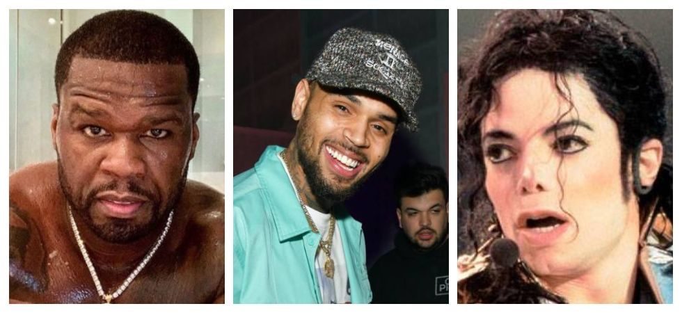 50 Cent says Chris Brown is better than MJ (Photo: Twitter)