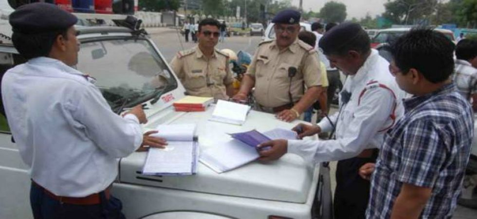 Gurugram: Man on scooter fined with Rs 23,000 challan for violating five traffic rules (Representational Image)