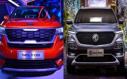 Kia Seltos vs MG Hector: Who Is The Winner In Terms Of Sales