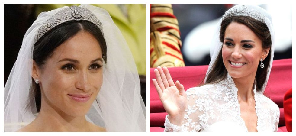 Kate Middleton, Meghan Markle Can't Wear Diamonds Before 6pm (Photo: Twitter)